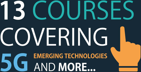 13 courses covering 5g