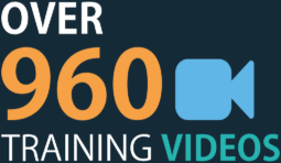 Over 960 training videos