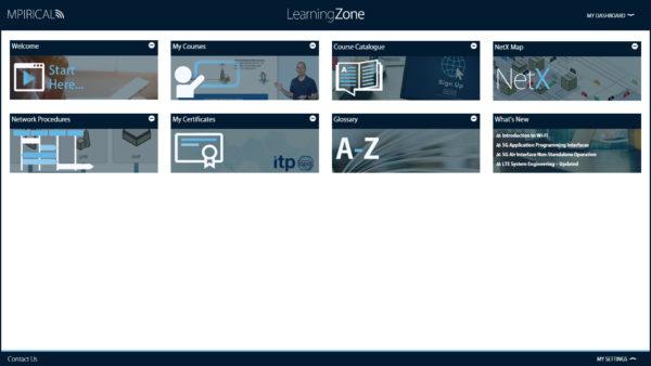 Mpirical Learning Zone Dashboard